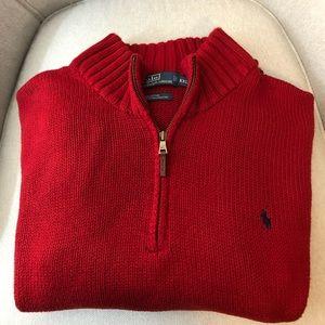 Polo Ralph Lauren zipper sweater Size XXL